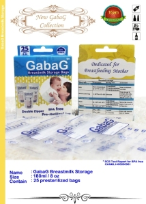 Gabag breastmilk bag