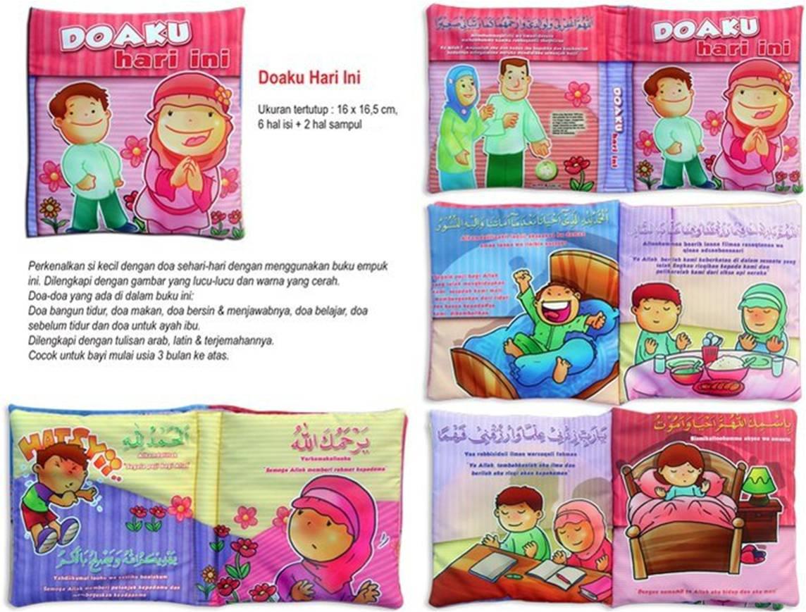 Softbook Breastfeeding Child Health Buku Bantal Anak Binatang Apakah Aku Doaku