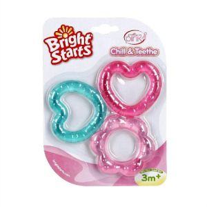 Bright Starts Love Pink Teether